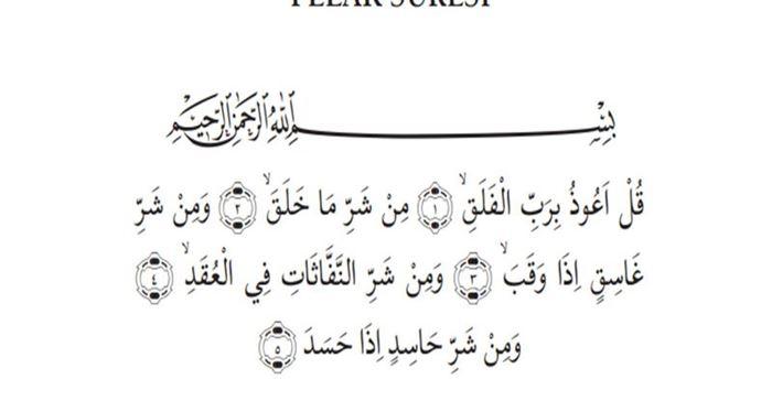 Bütün surelerin türkçe okunuşu