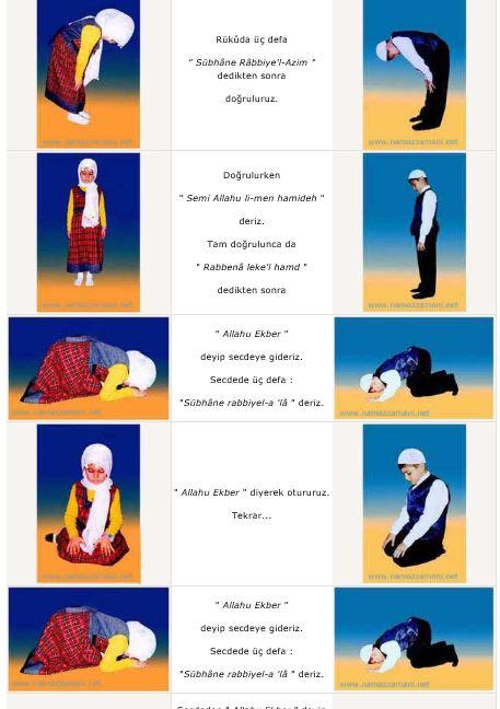 Yatsı namazı nasıl kılınır resimli anlatım
