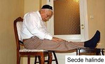 Oturarak namaz nasıl kılınır resimli anlatım
