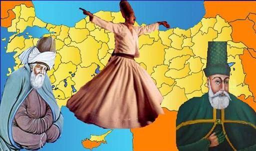 Türkiyede bulunan tarikat isimleri ve mürşidleri şeyhleri kimlerdir?