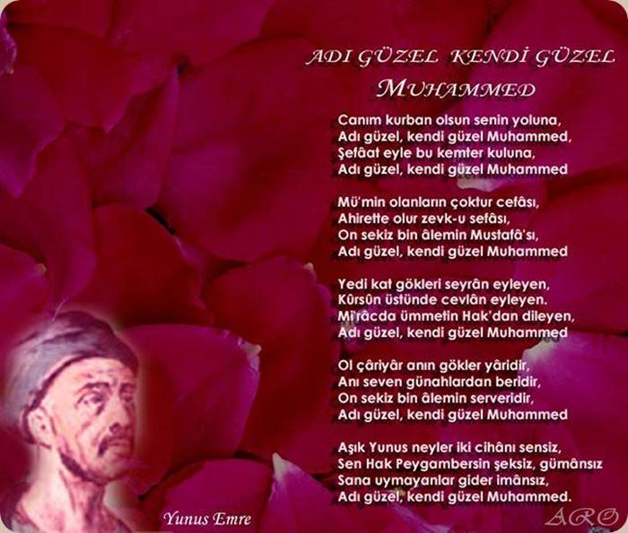 Peygamber efendimiz ile ilgili şiirler kısa