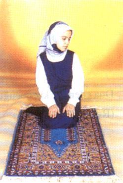 Kadın namaz oturuş şekli
