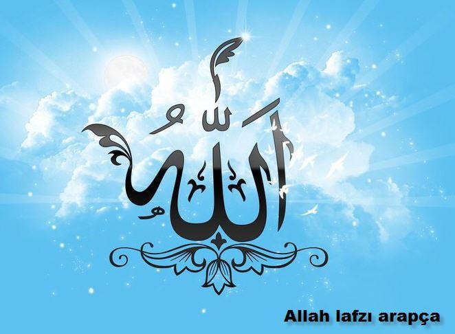 Allah lafzının üstündeki işaret nedir