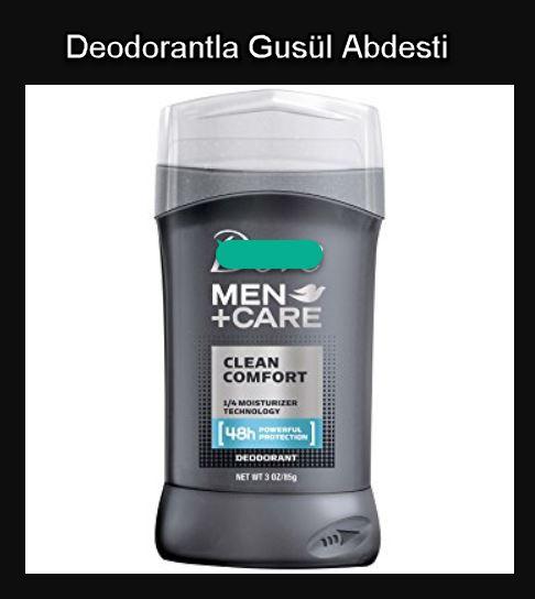 Deodorant Gusül Abdestine Mani Olur Mu