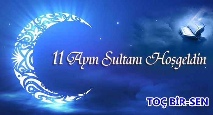 Ramazan ayıyla ilgili bir afiş