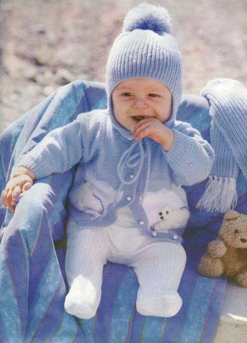 Erkek bebek takımı